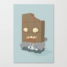 Zombie Crunch Bar Canvas Print
