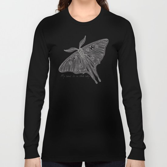 My soul is in the sky Long Sleeve T-shirt
