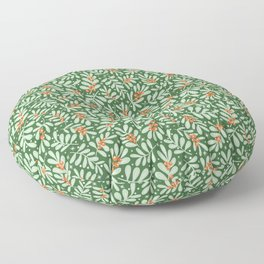 Christmas Berries Floor Pillow