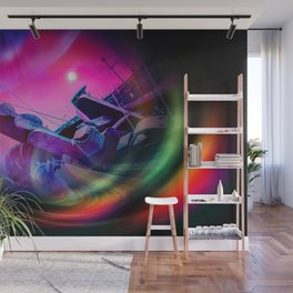 Our world is a magic - Time Tunnel 2 Wall Mural