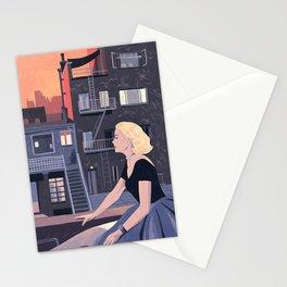 Rear window - Classic Movie - Lockdown style illustration print Stationery Cards