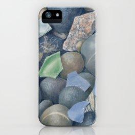 Sea Glass IV iPhone Case
