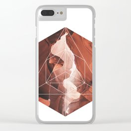 A Great Canyon - Geometric Photography Clear iPhone Case