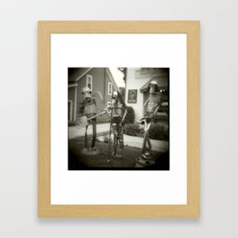 We Are But Robots Framed Art Print