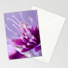 Purple Bloom Stationery Cards