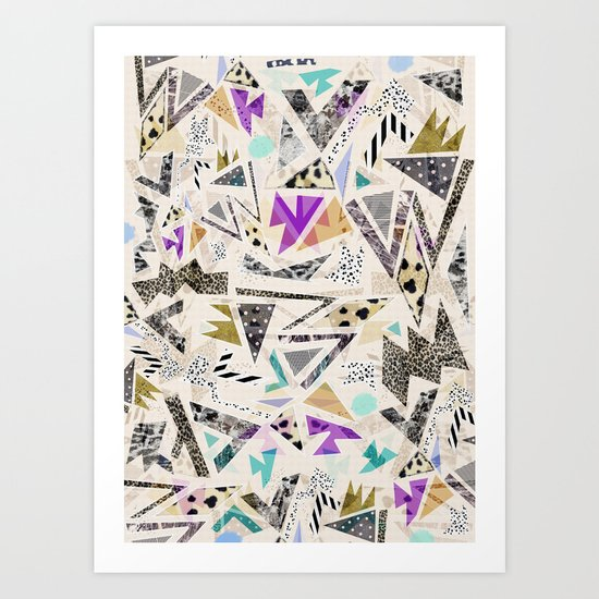 HECTIC Art Print