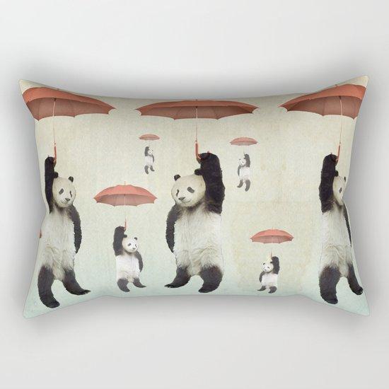 Pandachutes Rectangular Pillow