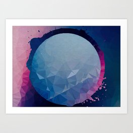 ambidextrous planet Art Print