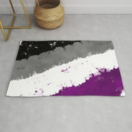 Splatter YOUR Colors - Ace Pride Rug