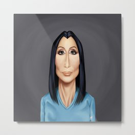 Celebrity Sunday ~ Cher(Cherilyn Sarkisian) Metal Print
