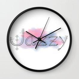 Jazzy Wall Clock