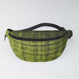 Black olive mosaic Fanny Pack