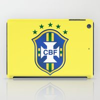 world cup iPad Cases featuring Brazil World Cup by WaXaVeJu