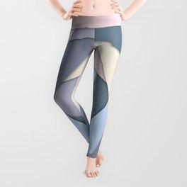 Geometric Layers of Color Leggings