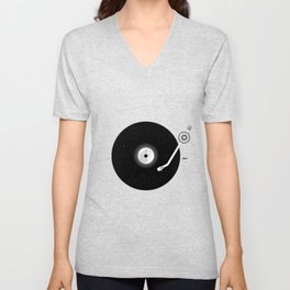 The Music of the Moon and the Stars Unisex V-Neck