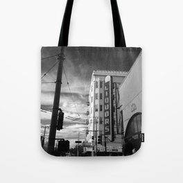 Inner Liquors Black & White San Francisco Tote Bag