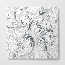 Abstract Floral 26 Metal Print