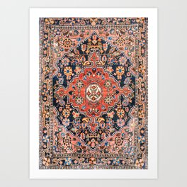 Djosan Poshti West Persian Rug Print Kunstdrucke