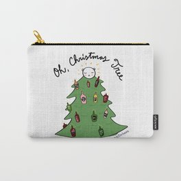Xmas Tree + Me = Lit Up! Carry-All Pouch