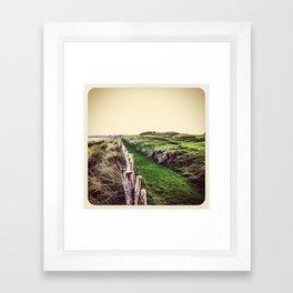 Fence - Instagram Framed Art Print