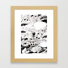 tomb ore Framed Art Print