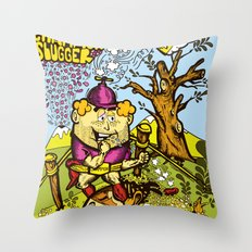 The Champion slugger Throw Pillow