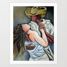 Dancing (Bailando) Art Print