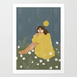 Sun don't shine Art Print