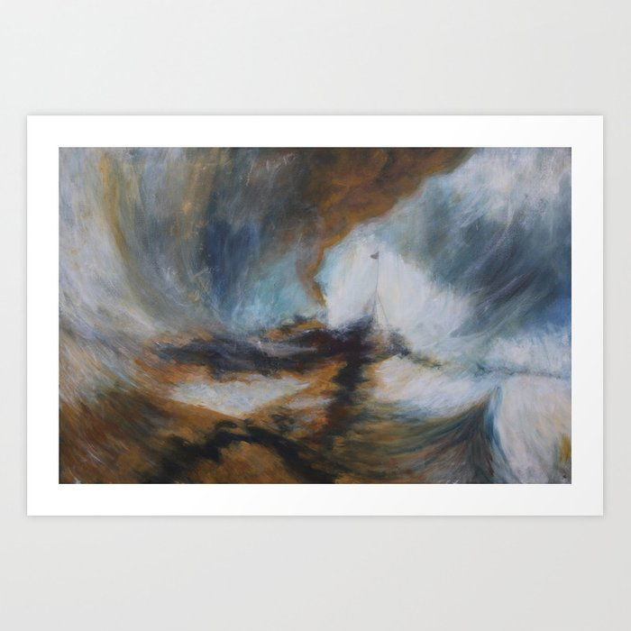 Turner Storm Art Print