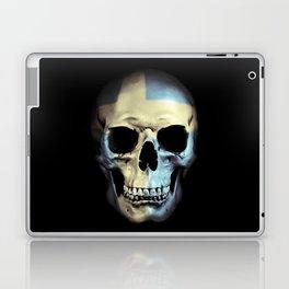 Swedish Skull Laptop & iPad Skin