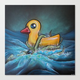 Quacken Canvas Print
