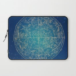 Zodiac and Stars 4-17 Laptop Sleeve