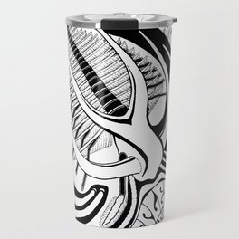 Psychedelic Marrella Travel Mug