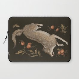 The Wolf and Rose Hips Laptop Sleeve