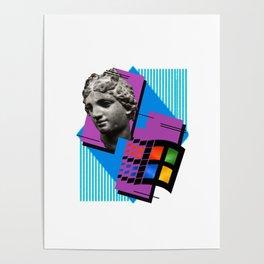 roman computer Poster