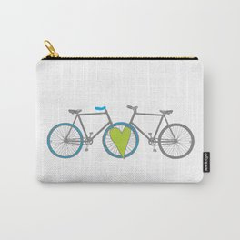 Bikes in Love Carry-All Pouch
