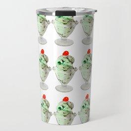 Pistachio Ice Cream Pattern Travel Mug