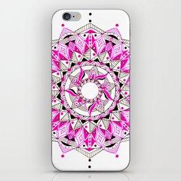 Pink&Black iPhone Skin