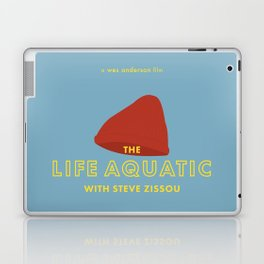 The Life Aquatic with Steve Zissou Beanie Poster Laptop & iPad Skin