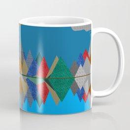 Over The Fabric Hills And Far Away Coffee Mug