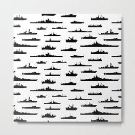 Battleship Metal Print