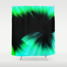 Messy Shower Curtain