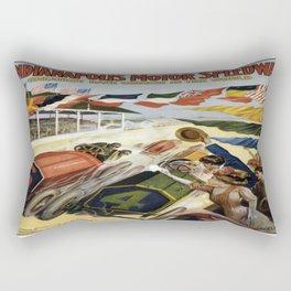 Vintage poster - Indianapolis Motor Speedway Rectangular Pillow