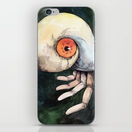 The keen finger iPhone Skin