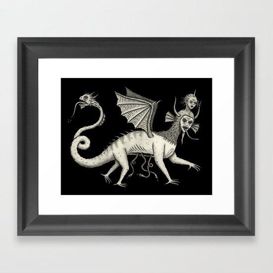 Vexadorae Framed Art Print