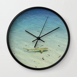 Blacktip Reef Shark Wall Clock