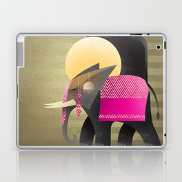 royal elephant Laptop & iPad Skin