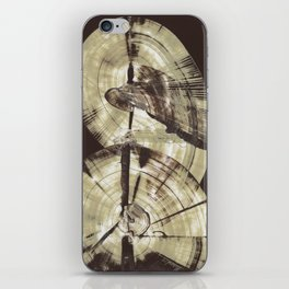 Concentric Log Abstract iPhone Skin