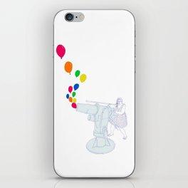 Balloon Cannon iPhone Skin