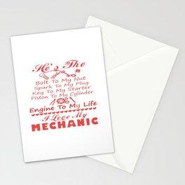 I love MECHANIC Stationery Cards